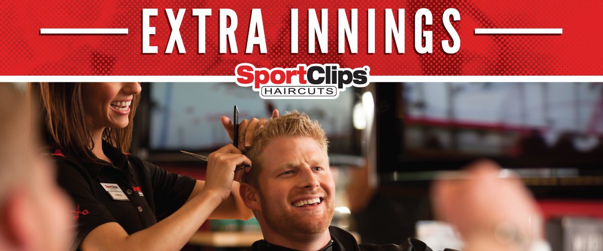 The Sport Clips Haircuts of Naples Goodlette Corners Extra Innings Offerings